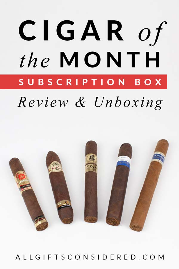 Cigar of the Month Club Review