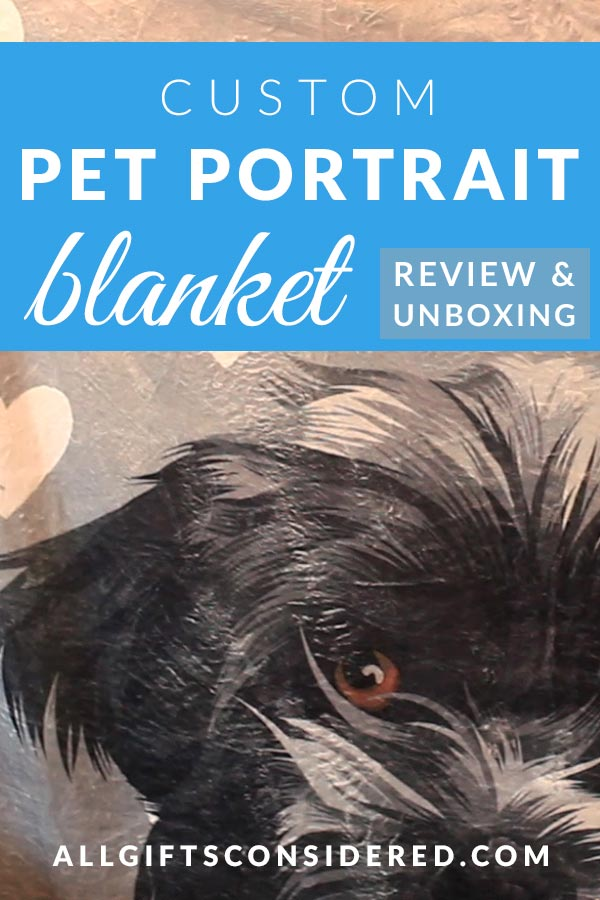 Pet Portrait Blankets