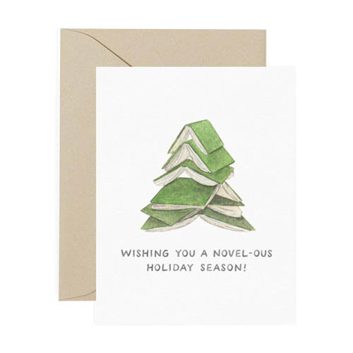 Christmas Card Message for Book Lovers