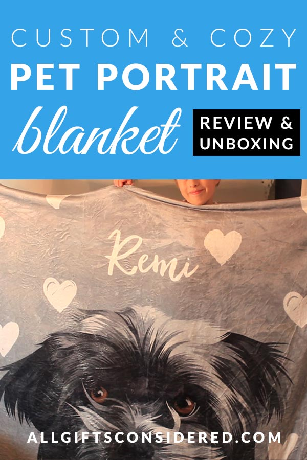 Personalized Pet Photo Blanket