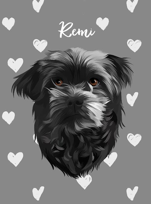 Fur Baby Prints Custom Pet Illustration