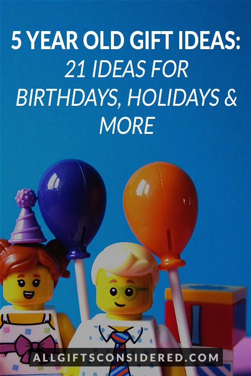 Best Gift Ideas for 5 Year Old's