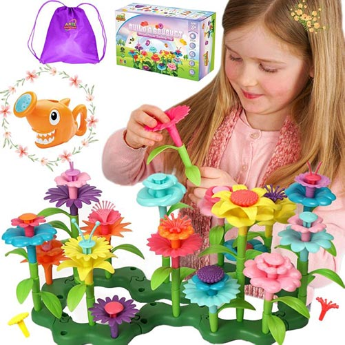 Flower Building Toy Set-Best Gifts for 3 Year Old's