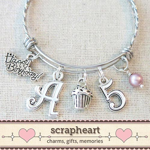 21 Ideas for Five Year Old Gifts- Birthday Bracelet