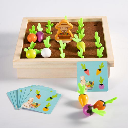 Best Gift Ideas for Four Year Old's: Wooden Carrot Harvest