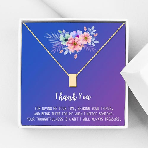 Thank You Necklace: Best Gifts for Your Employees