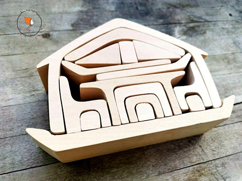 Best Gift Ideas for Four Year Old's: Nesting House Play Set