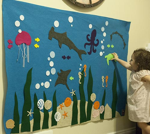 Best Gift Ideas for Four Year Old's: Felt Under the Stars