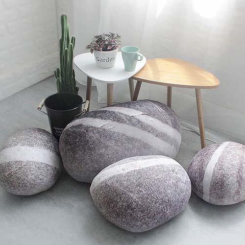 Large Stone Pillows