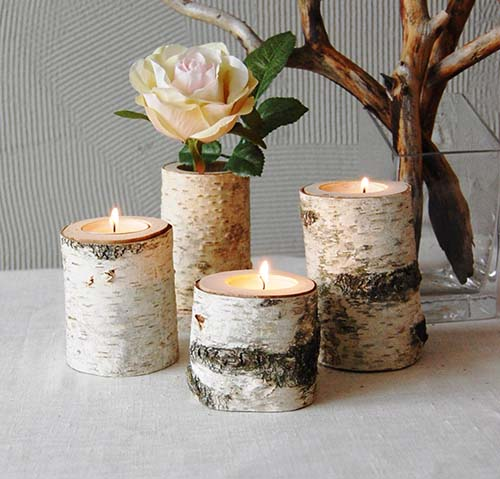 Tree Branch Candle Holder- Christmas Gift Ideas