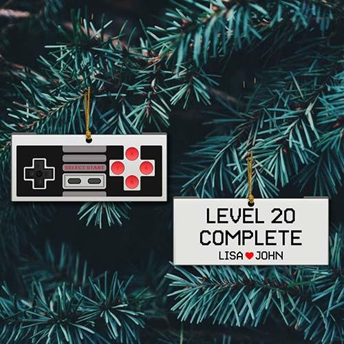 Level Complete Controller Ornament