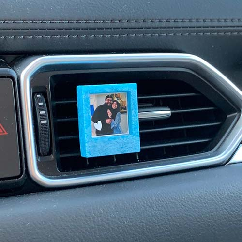 Photo Resin Car Vent Clip - Personalized Gifts for Him