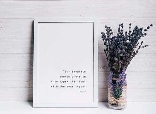 Printed Favorite Quote - Personalized Gifts for Him