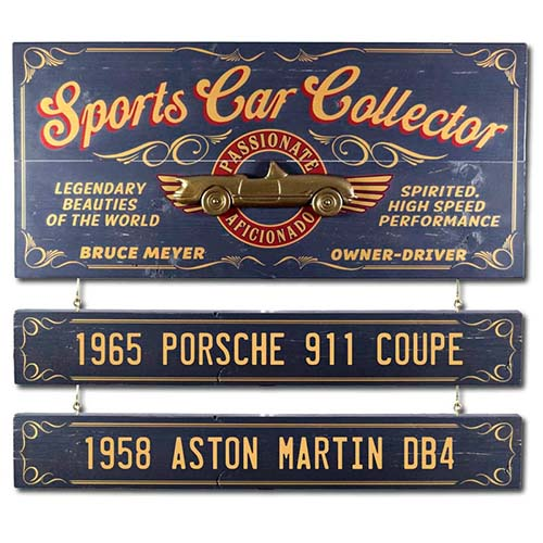 Vintage Sports Card Collector Sign - Personalized Gifts for Him