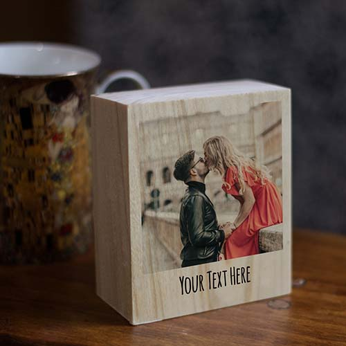Woodwork Photo Frame - Personalized Gifts for Him