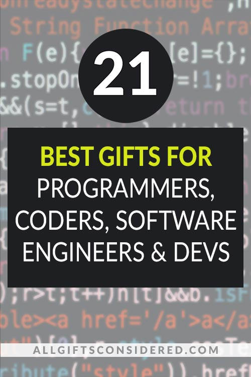 21 Best Gifts for Coders