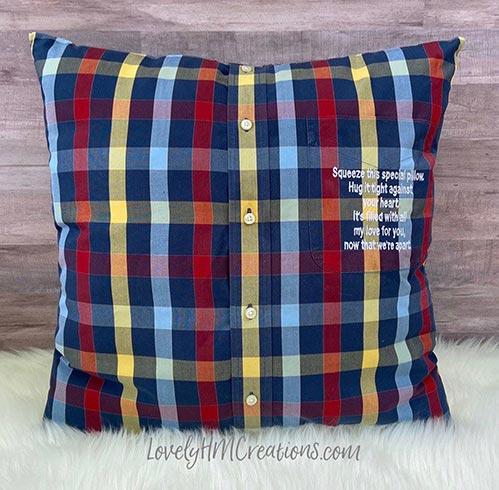 Memorial Pillow