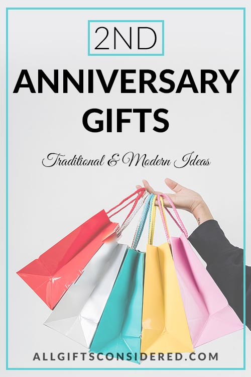 2nd Anniversary Gift Guide