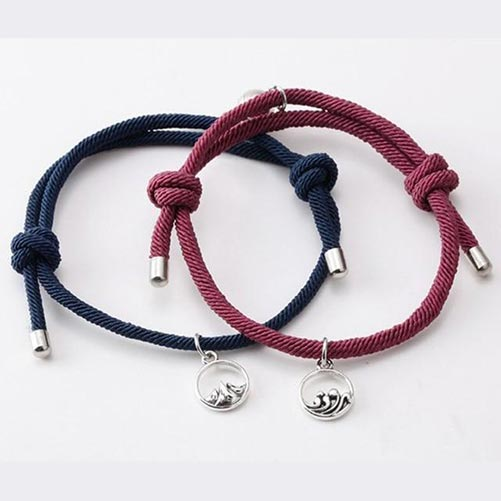 Magnetic Couples Bracelets: Anniversary Gift