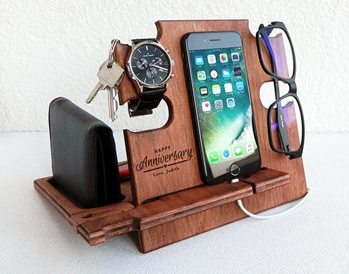 Wooden Personalized Holder