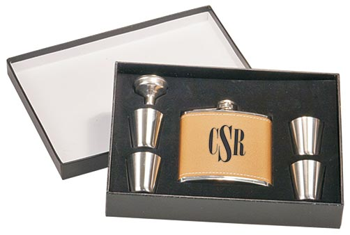 Leather Flasks for Him