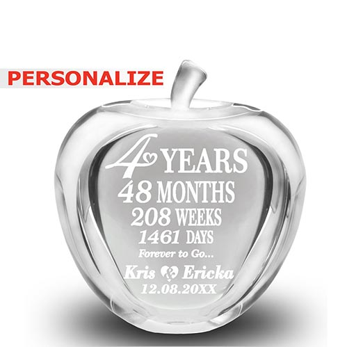 4th Anniversary Marriage Apple