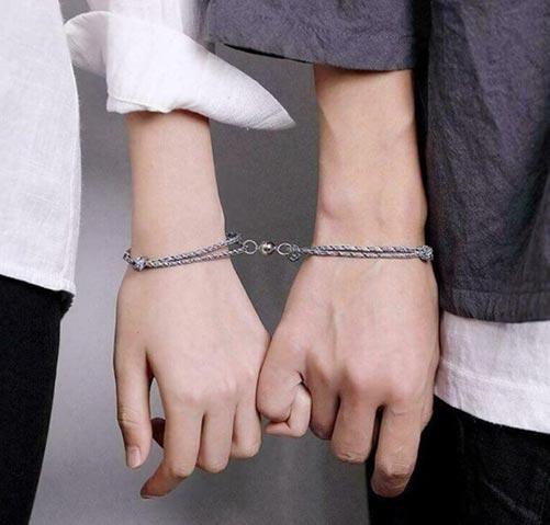 Magnetic Couple Bracelets
