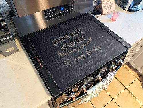 Kitchen Stove Top Cover
