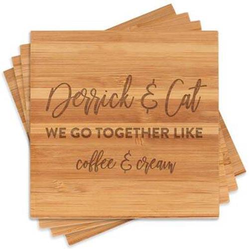 We Go Together Life - Coaster Set