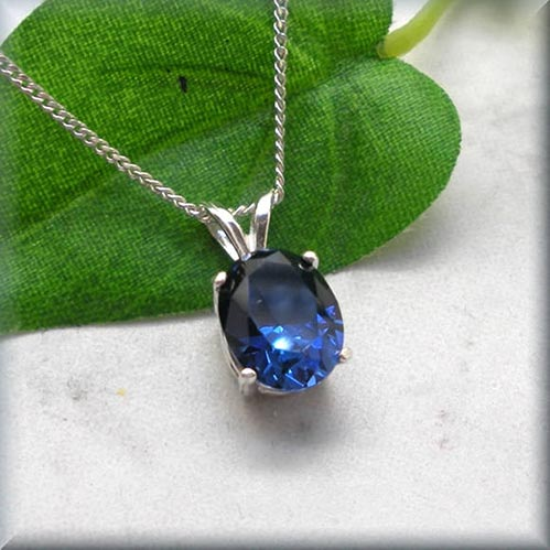 Blue Sapphire Jewelry for 5th Anniversary Gifts