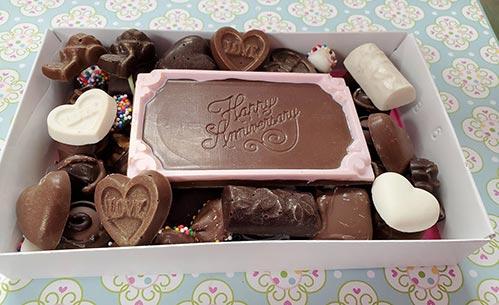 Chocolate Anniversary Gift Box