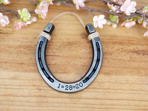 Iron Stamped Horseshoe