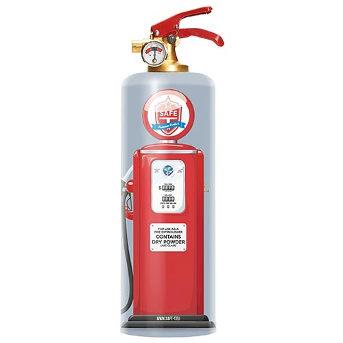 Designer Fire Extinguisher- 70th Birthday Gift Ideas