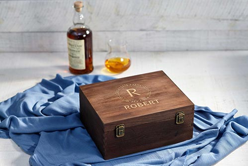 Personalized Keepsake Box- 70th Birthday Gift Ideas
