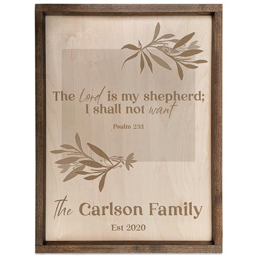 Personalized Pacific Crest Plaque- 70th Birthday Gift Ideas