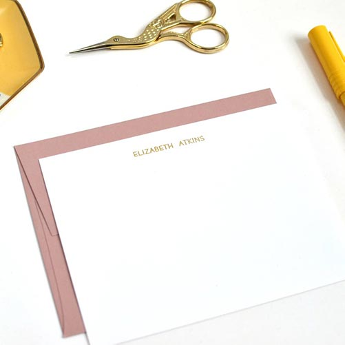 Copper Stationary For Her