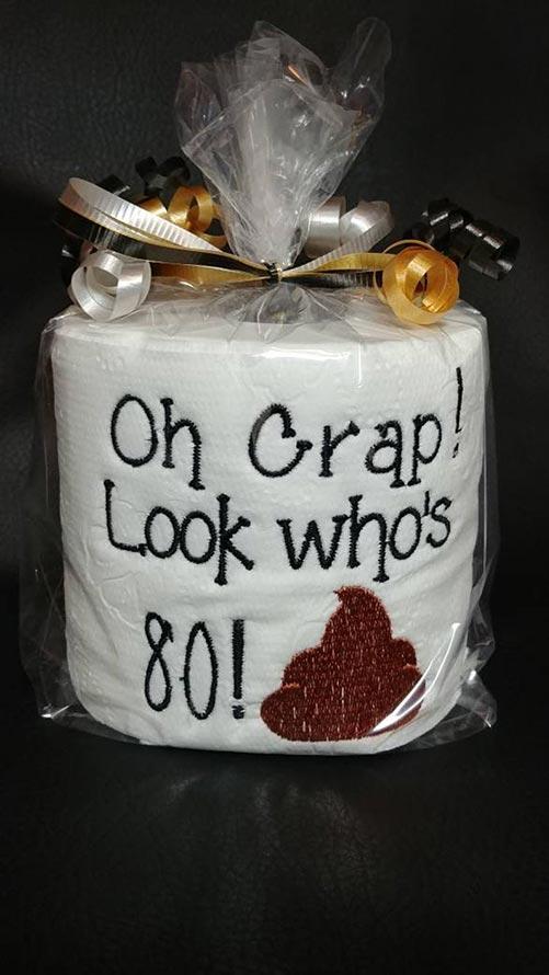 Toilet Paper Birthday Gag Gift