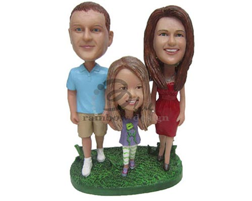 Family Bobbleheads for 9 Year Old Gifts