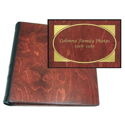 Wooden Personalized Album