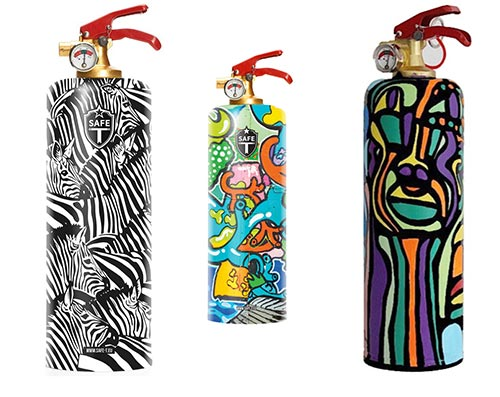 Artistic Fire Extinguishers