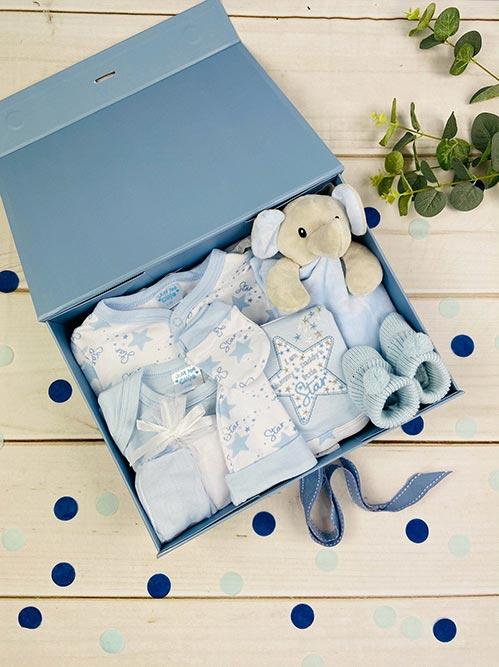 Baby Boy Gift Ideas- Blue Hamper