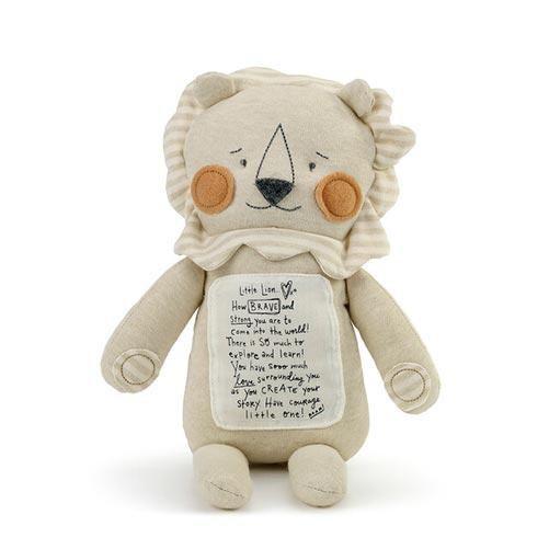 Brave Little Lion Stuffed Animal