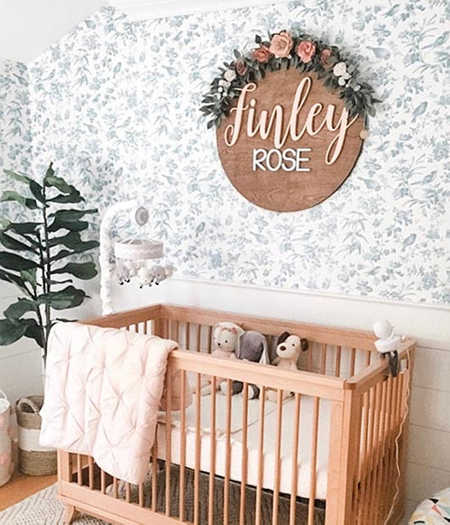 Personalized Nursery Name Sign