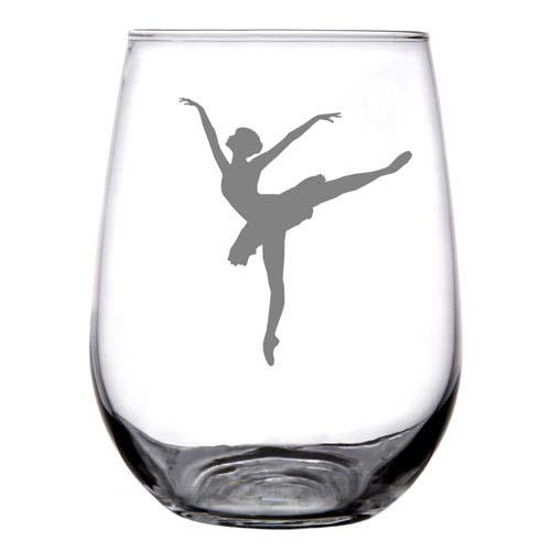 Custom Stemless Wine Glasses for Dance Teachers