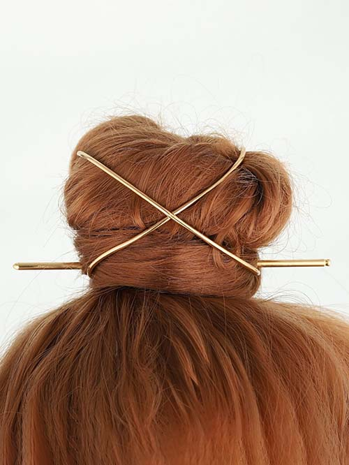 Hair Bun Cage for Dancers