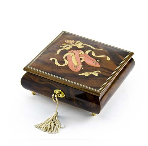 Ballet Inlay Music Box