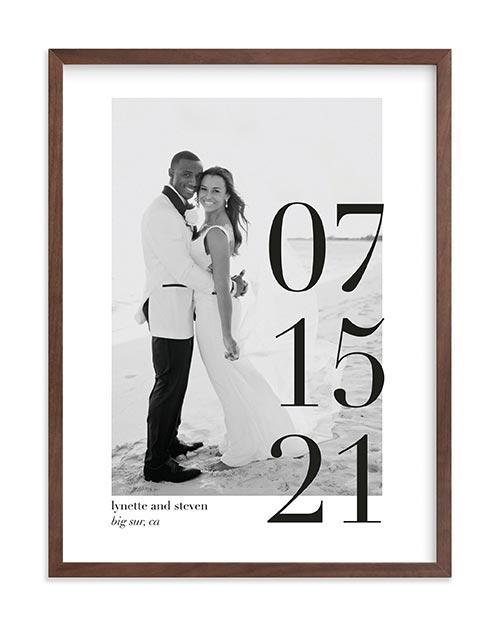 Big Date Photo Frame