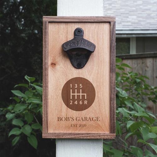 Garage Themed Bottle Opener