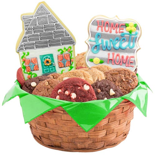 Delicious Home Sweet Home Cookie Basket