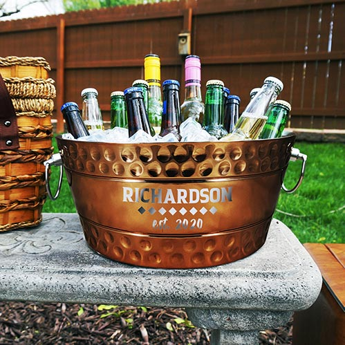 Personalized Drink Tub